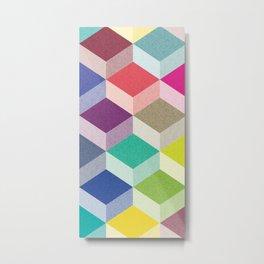 Cubism Metal Print