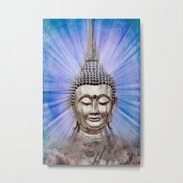 Inspiration blue Metal Print