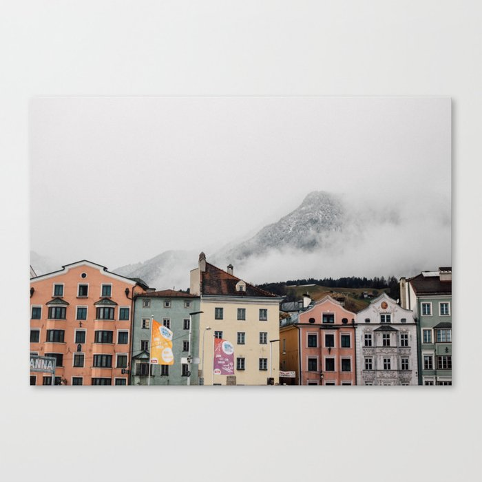 Austrian Aesthetic Canvas Print