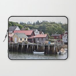 A Town of Fishermen Laptop Sleeve