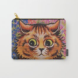 Cat and Her Kittens-Louis Wain Cats Carry-All Pouch