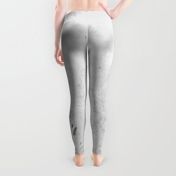 White Light Gray Concrete Leggings