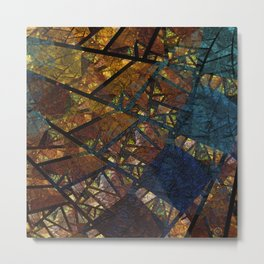 Thoughts of Autumn Metal Print