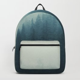 Into The Misty Nature - Turquoise II Backpack