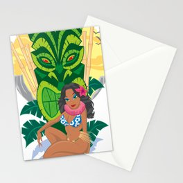 Wahine Heaven Stationery Cards