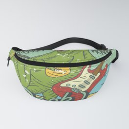 Beach Rock Party Fanny Pack