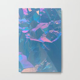 Holographic Artwork No 2 (Crystal) Metal Print