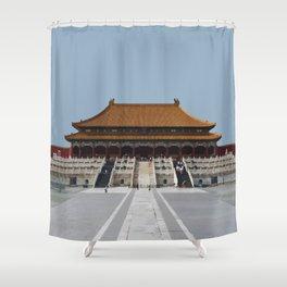 Beijing Forbidden City Artwork Shower Curtain
