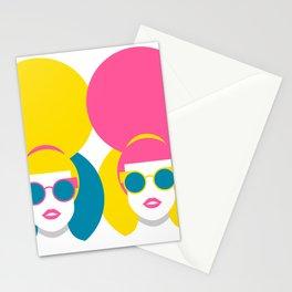 Glam Girls Stationery Cards