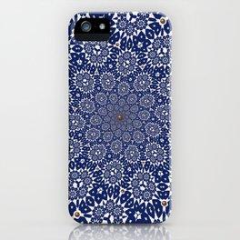Bleu Gyre Royale iPhone Case