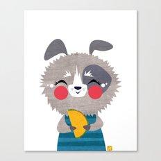 Taco Dog Canvas Print
