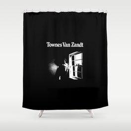 Townes Van Zandt Shower Curtain