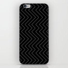 YARA ((white on black)) iPhone Skin