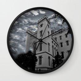 LOUISIANA ARCHITECTURE Wall Clock