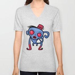 Zombie Monkey Unisex V-Neck