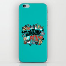 Time Bomb of Pain iPhone Skin