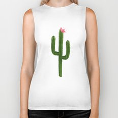 Happy Cacti #society6 #decor #buyart Biker Tank