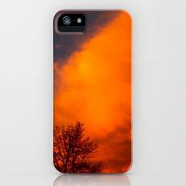 Orange Colorado Sunrise iPhone Case