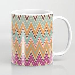 Seamless chevron zigzag pattern geometrical background Coffee Mug