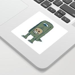 Headless, but not faceless Sticker