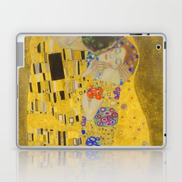 Gustav Klimt The Kiss Detail Laptop & iPad Skin