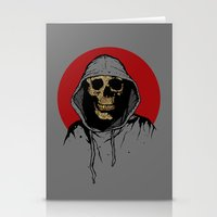 returns Stationery Cards featuring Skullboy Returns by Matthew Dunn