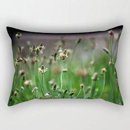Little Green Army Rectangular Pillow