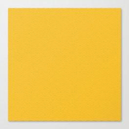 Modern geometrical yellow orange chevron pattern Canvas Print