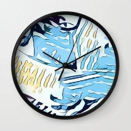 Water Nips Wall Clock