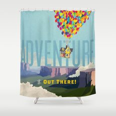 UP - Adventure Is Out There! Shower Curtain