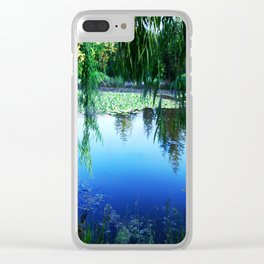 Reflections on the lake Clear iPhone Case