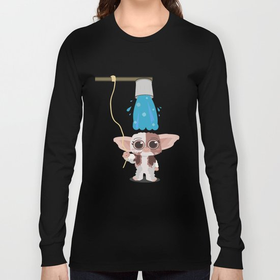 Ice bucket challenge Gizmo Long Sleeve T-shirt