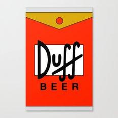 Duff Beer! Canvas Print