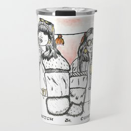 Bad Bitch and Company Travel Mug