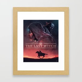 The Last Witch Framed Art Print