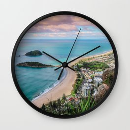 View from the Mount Wall Clock