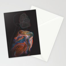 All Through the Night Stationery Cards