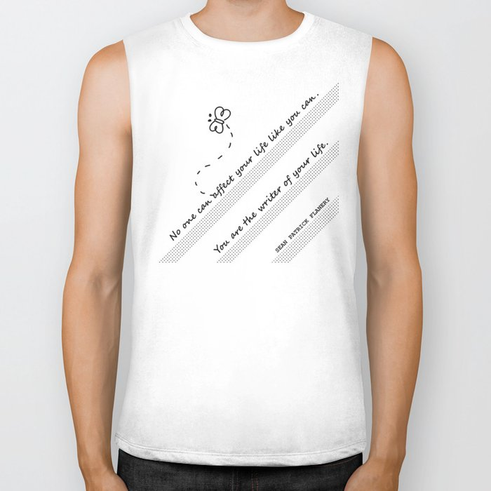 The Writer Of Your Life Biker Tank