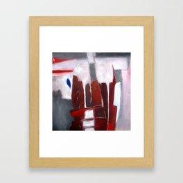 of the bored Framed Art Print