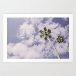 PALMS BEACH Art Print