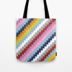 Map Quilt 45 Tote Bag