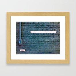 Corner of Ann Arbor Framed Art Print
