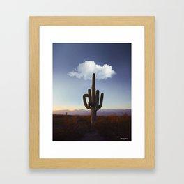 hey, mate. Framed Art Print