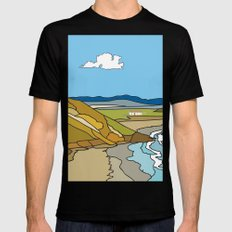 Donegal Black MEDIUM Mens Fitted Tee