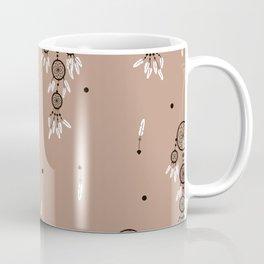 Dreamcatcher boho feathers pattern Coffee Mug