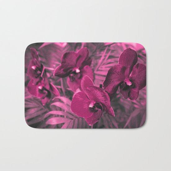 Orchid falinopsis . Bath Mat