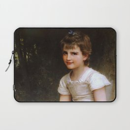 "William-Adolphe Bouguereau ""A Calling"" Laptop Sleeve"