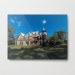 Beautiful abandoned castle in the province of buenos aires. Metal Print