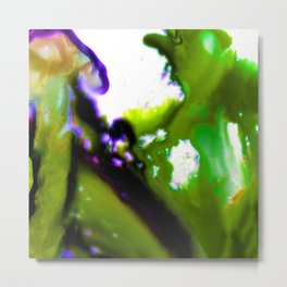 Abstract Bliss 3D by Kathy Morton Stanion Metal Print