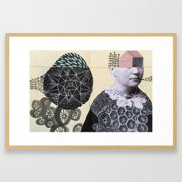 message Framed Art Print